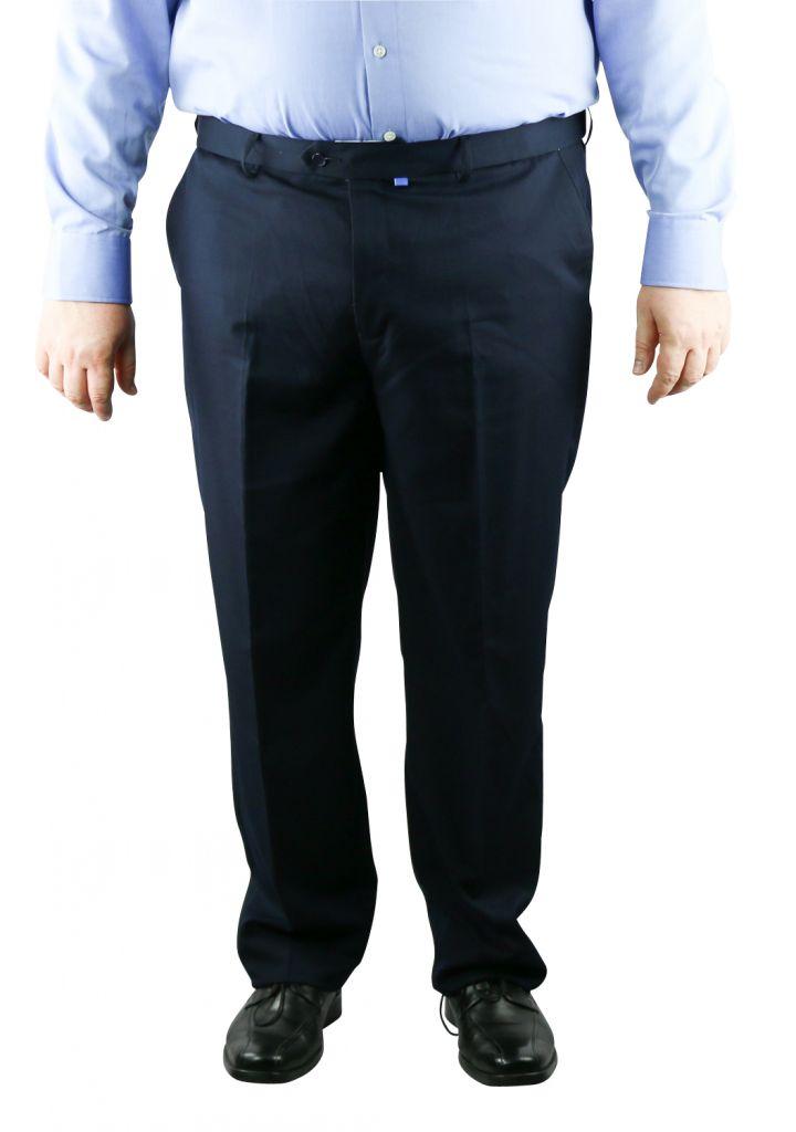 pantalon de costume grande taille homme bleu marine supreme de duke. Black Bedroom Furniture Sets. Home Design Ideas