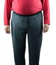 Bas de Pyjama 100% Coton Noir All Size