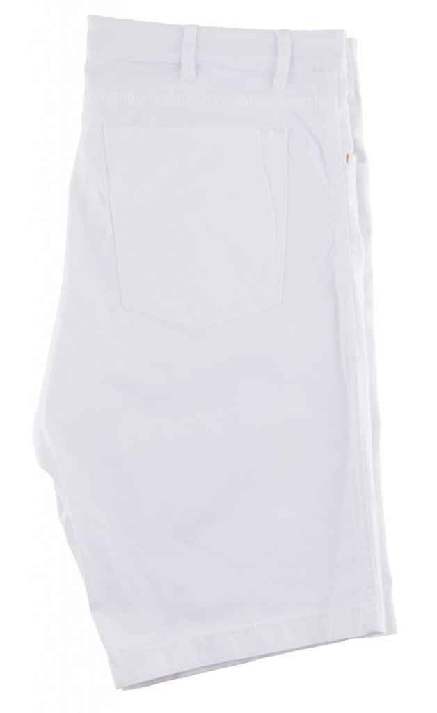 Bemuda Stretch Toile Coton Légère Blanc Maxfort du 52FR au 70FR