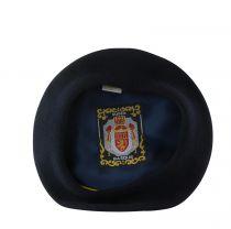 Béret Basque Bleu Marine Balke du 53 au 63