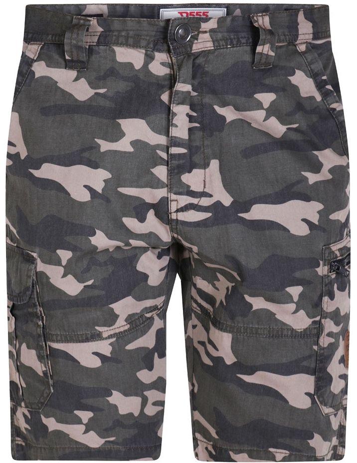 Bermuda Camouflage Kaki  Duke du 42US au 56US