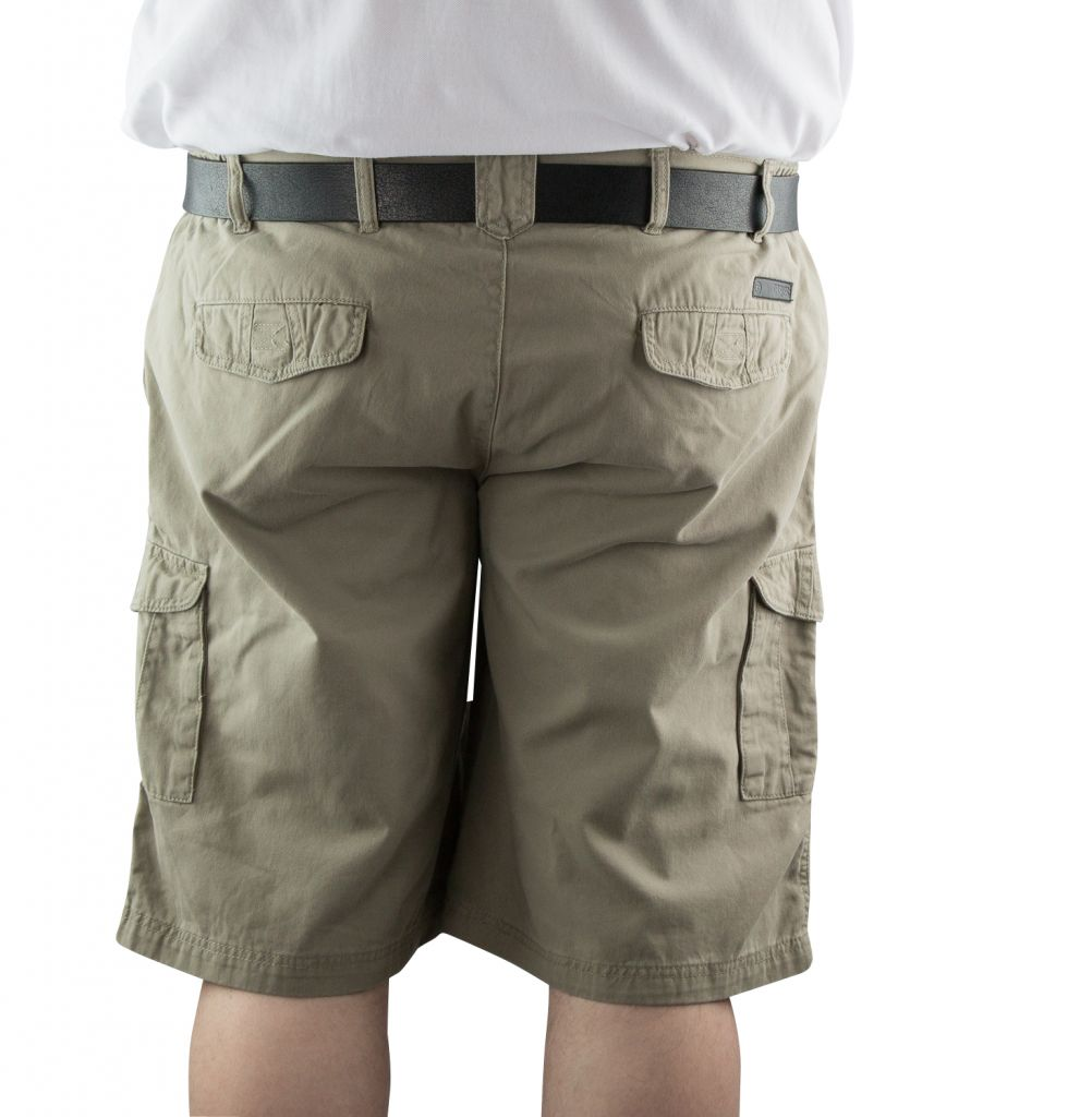 Bermuda Chino Beige All Size du 2XL au 8 XL