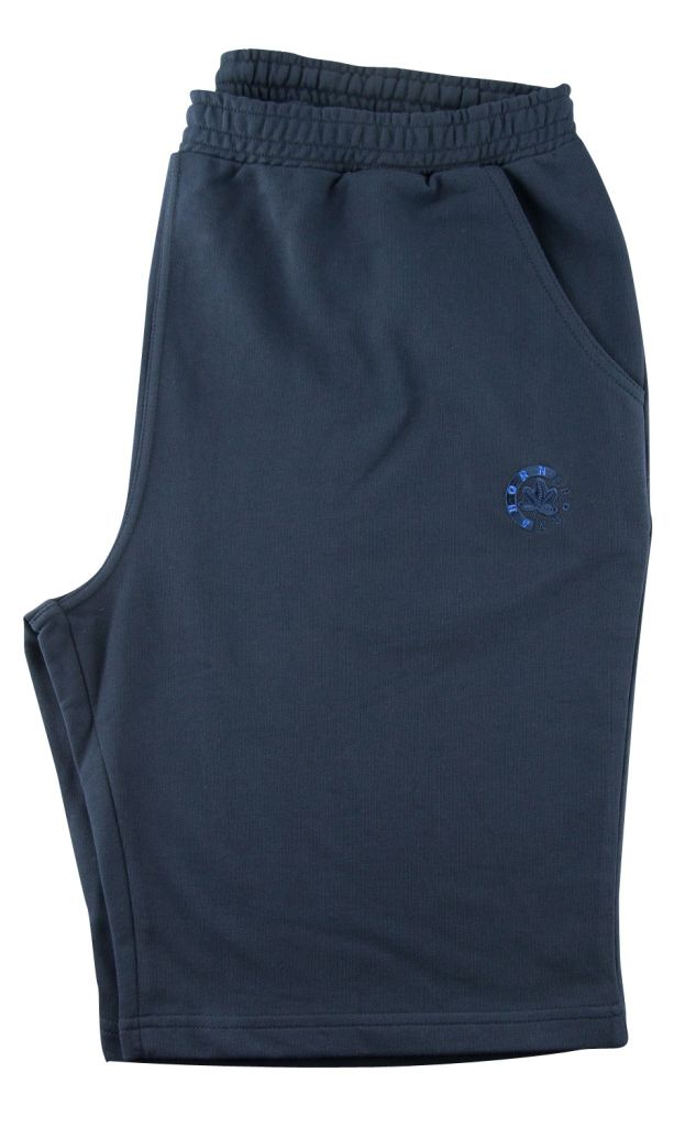 Bermuda de Jogging 100% Coton Bleu Marine Ahorn du 2XL au 10XL