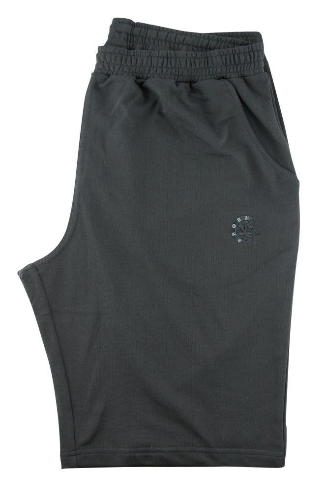 Bermuda de Jogging 100% Coton Noir Ahorn du 2XL au 10XL