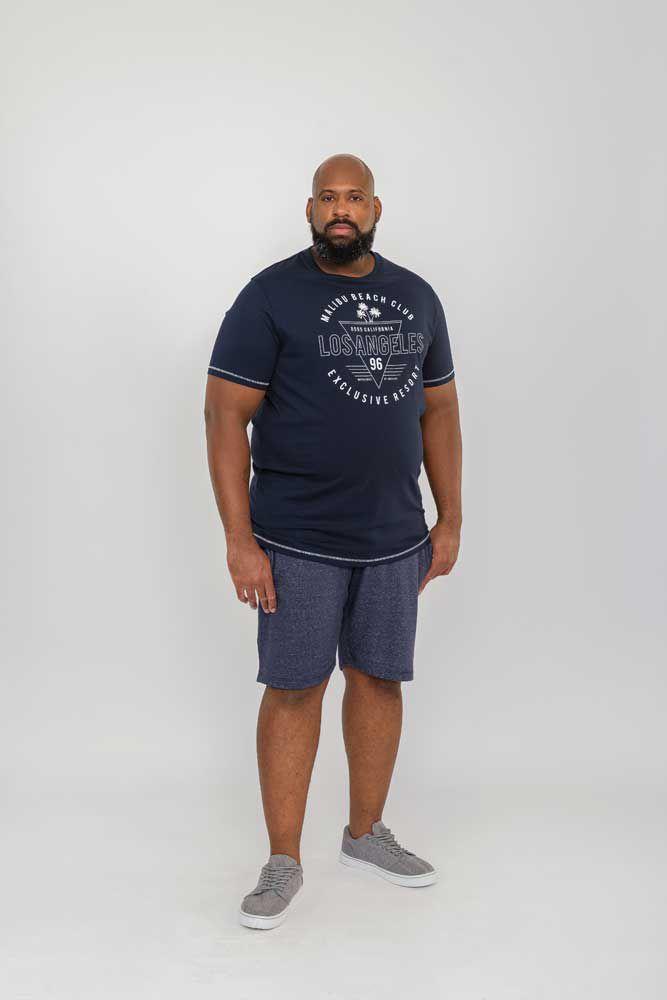 Bermuda de jogging Bleu Marine Duke 2XL au 6XL