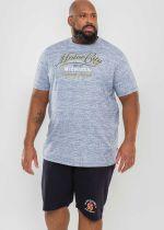Bermuda de jogging Bleu Marine Duke Du 2XL au 8XL
