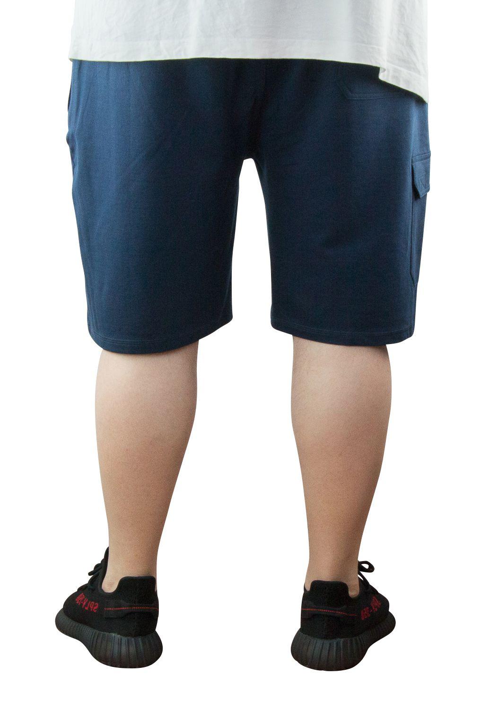 Bermuda de Jogging Grande Taille Homme Bleu Marine du JOHN de DUKE