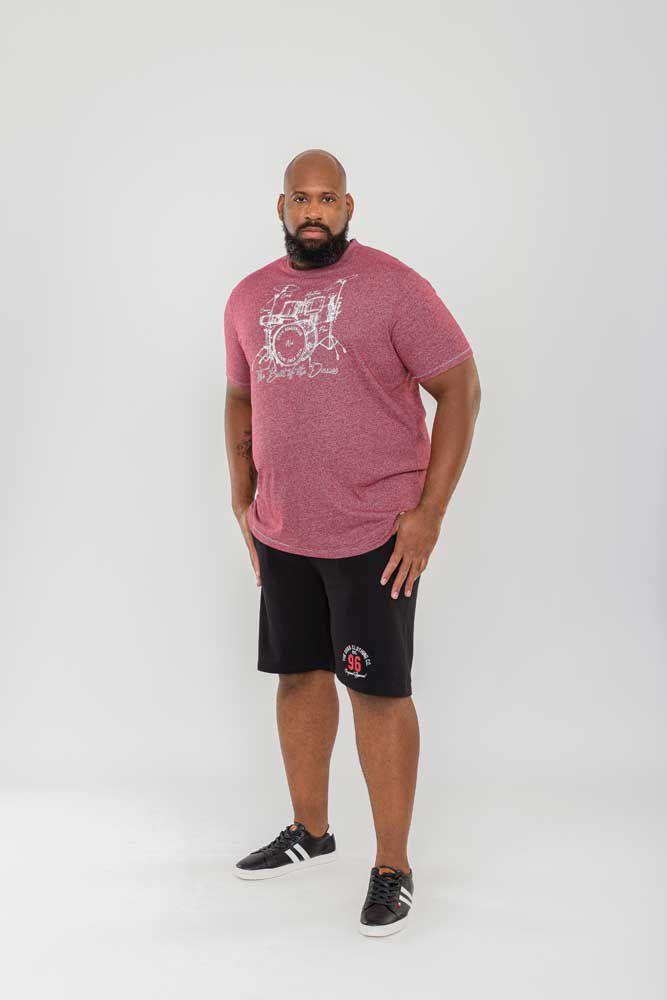 Bermuda de jogging Noir Duke Du 2XL au 8XL