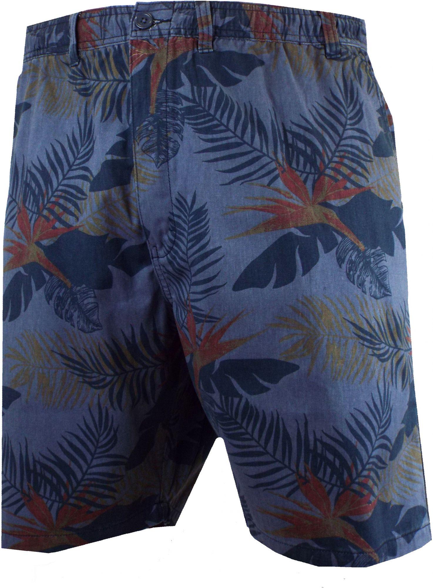 Bermuda Imprimé Floral Bleu Marine Espionage du 2XL au 8XL