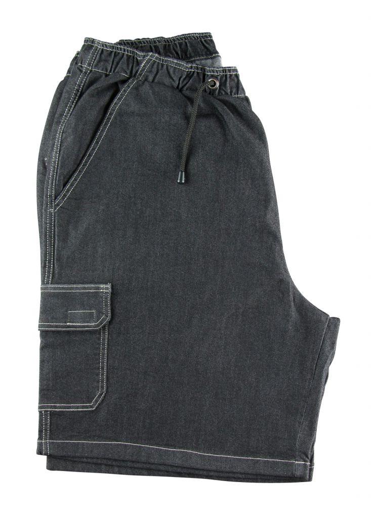 Bermuda Jean Noir Abraxas Du 2XL au 12XL