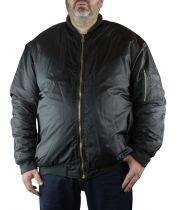 Blouson Bomber Noir du 2XL au 8XL Kam Jeanswear