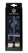 Bretelles Grande taille Bleu Marine Lindenmann