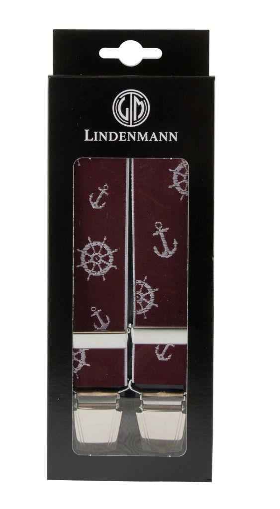 Bretelles Grande taille Bordeaux Lindenmann