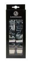 Bretelles Grande taille Noire Lindenmann