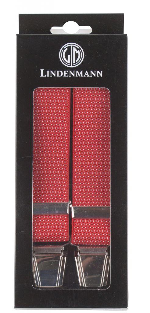 Bretelles Grande taille Rouge à Pois Lindenmann