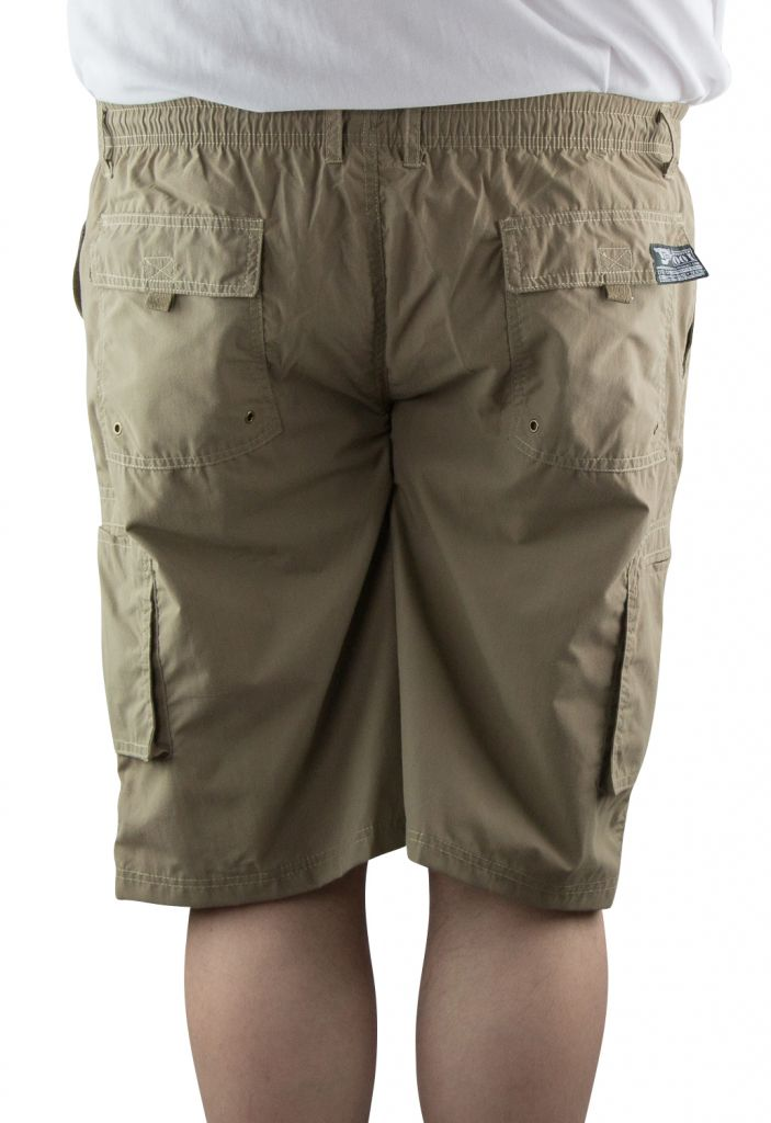 "Cargo Short ""Nick\"" Beige de DUKE"