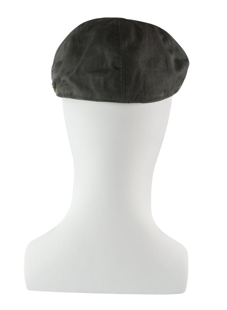 Casquette Coton Aspect Cuir Marron Balke du 55 au 62