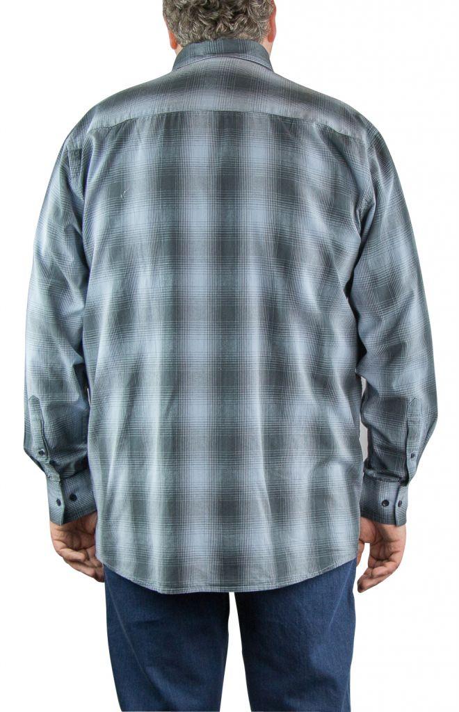 chemise homme grande taille carreaux gris all size. Black Bedroom Furniture Sets. Home Design Ideas