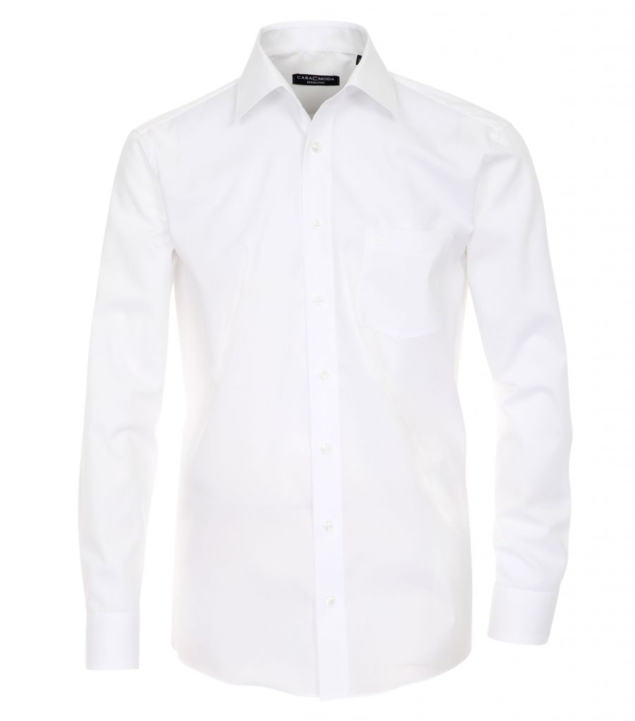 Chemise Manches Longues Blanche Casa Moda