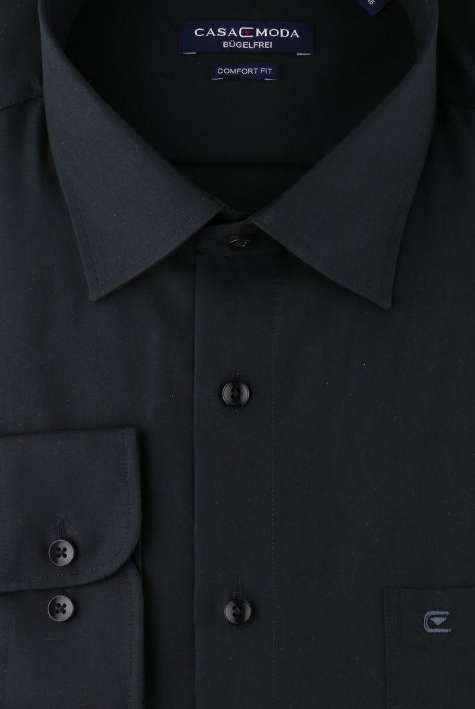 Chemise Manches Longues Noir Casa Moda