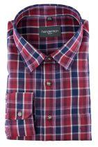 Chemise Manches Longues Rouge à Carreaux du 2XL au 5XL Henderson