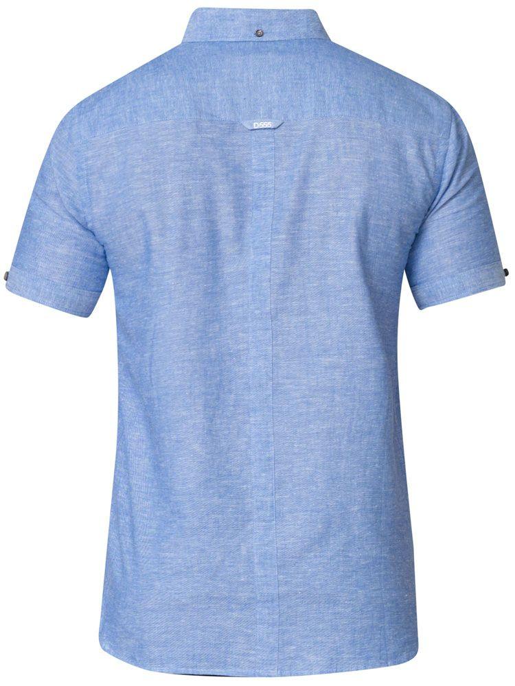 Chemisette Manches Courtes Bleue Duke Du 3XL au 8XL