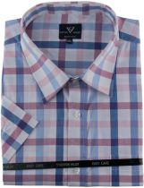 Chemisette Manches Courtes Rose Cotton Valley du 2XL au 8XL