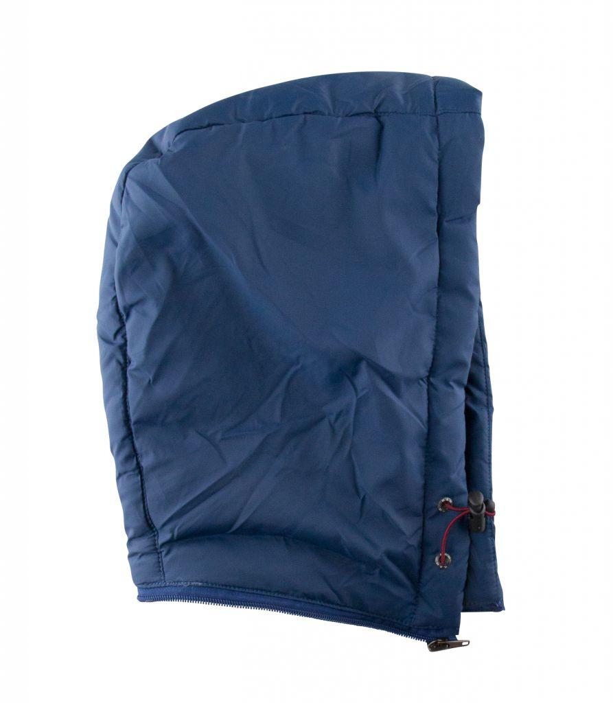 Doudoune à Capuche Bleu du 2XL au 8XL Kam