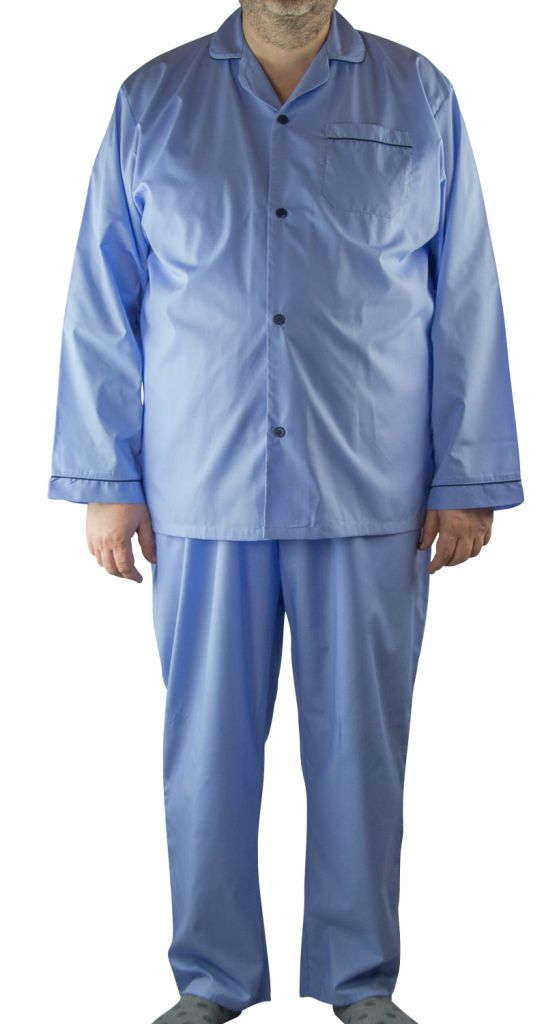 Ensemble Pyjama Bleu Cotton Valley du 2XL au 8XL