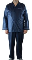 Ensemble pyjama bleu marine Cotton Valley du 2XL au 8XL