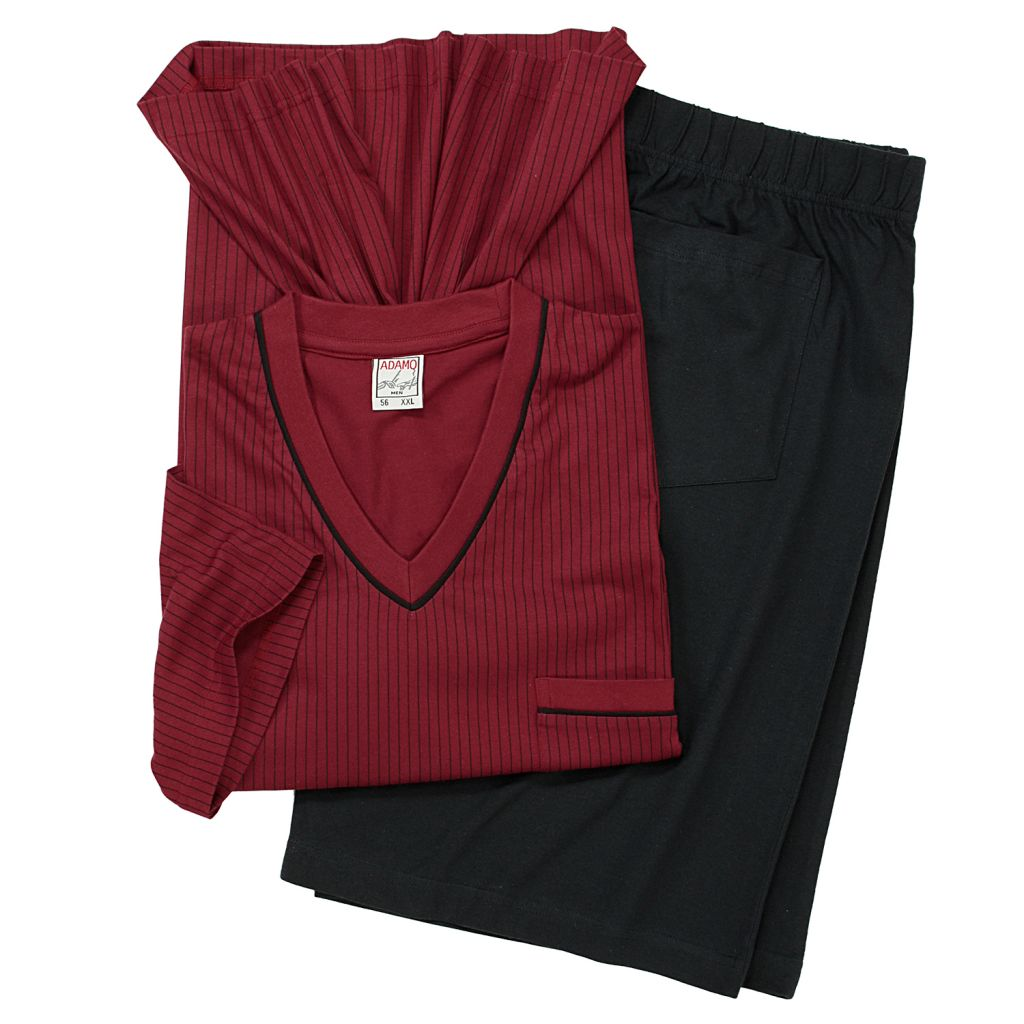 Ensemble Pyjama Short Bordeaux GUSTAV d\'Adamo