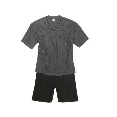 ensemble pyjama short homme grande taille gris fonc gustav d 39 adamo. Black Bedroom Furniture Sets. Home Design Ideas