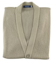 Gilet Sans Manches Beige Cotton Valley du 2XL au 8XL