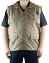 Gilet sans manches multipoches  \