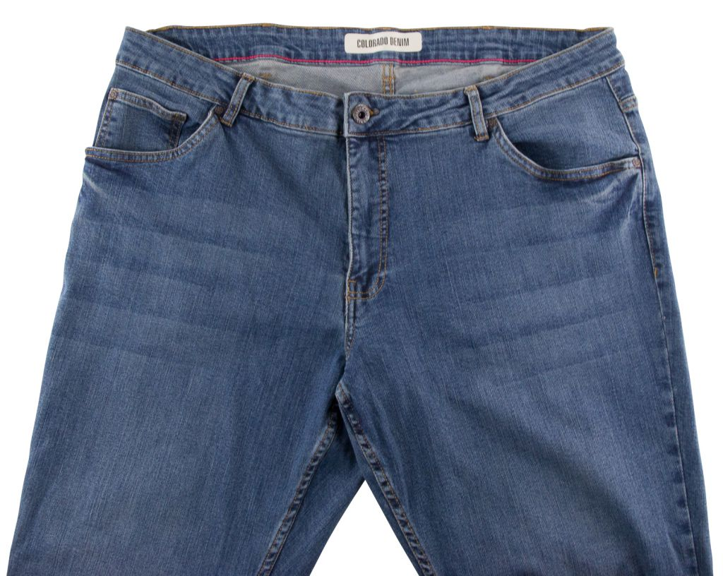 Jean Stretch Bleu Stonewash Colorado du 40US au 54US