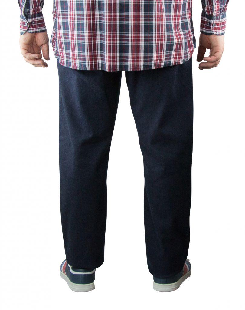 Jean Stretch Grande Taille Indigo Brut du 42US au 60US Duke