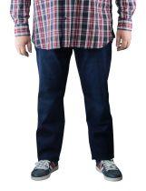 Jean Stretch Grande Taille Indigo Brut du 42US au 62US All Size