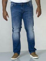 Jean Stretch Grande Taille Indigo Stonewash du 42US au 60US Duke