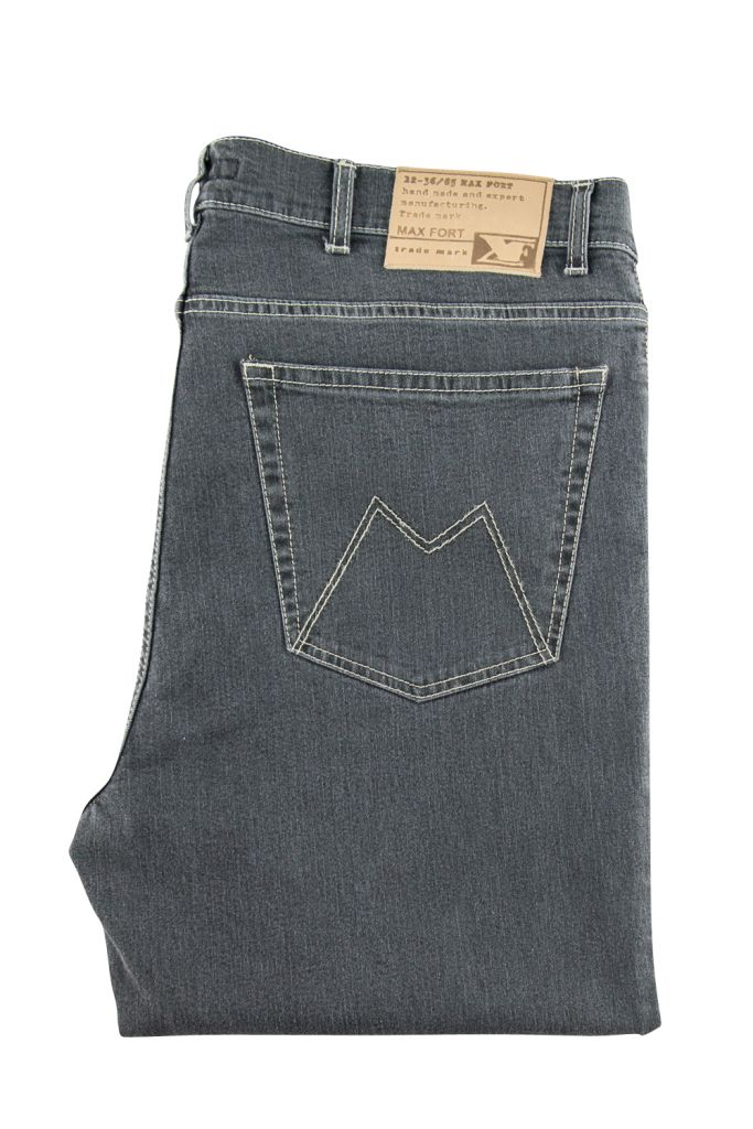 Jean Stretch Gris Maxfort