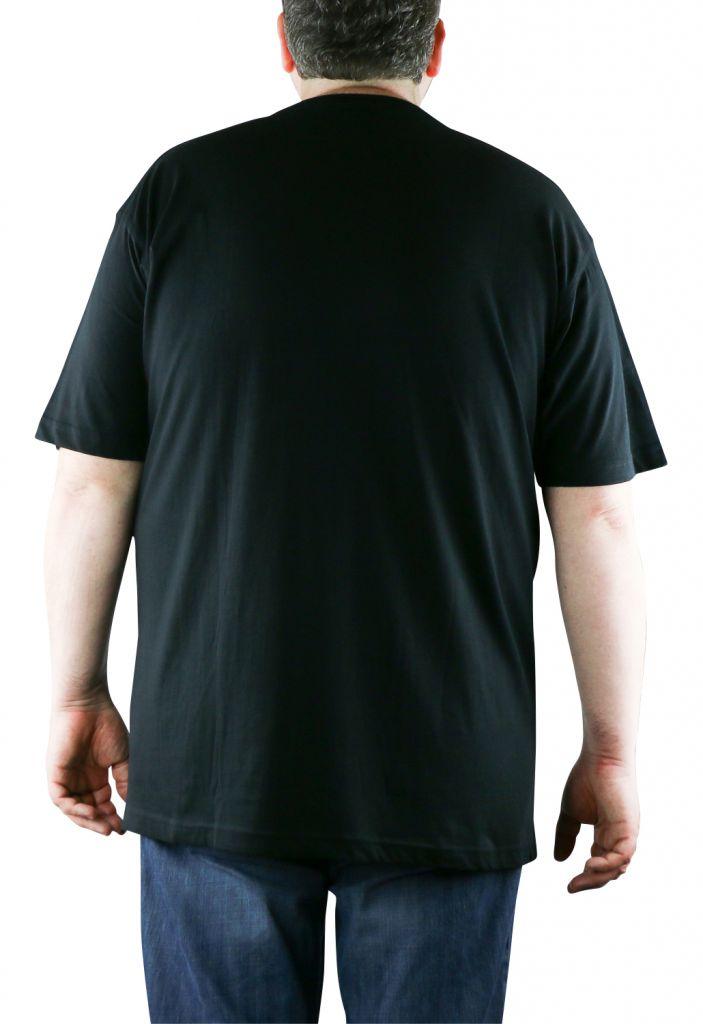 Lot de deux T-Shirt Noir Manches Courtes Col Rond Kitaro