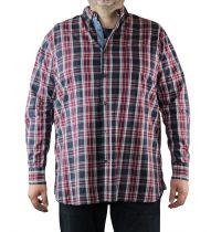 Pack Chemise à Carreaux Manches Longues & T-Shirt Duke du 2XL au 8XL