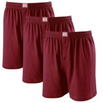 Pack de 3 Caleçons Bordeaux JAMES d\'Adamo