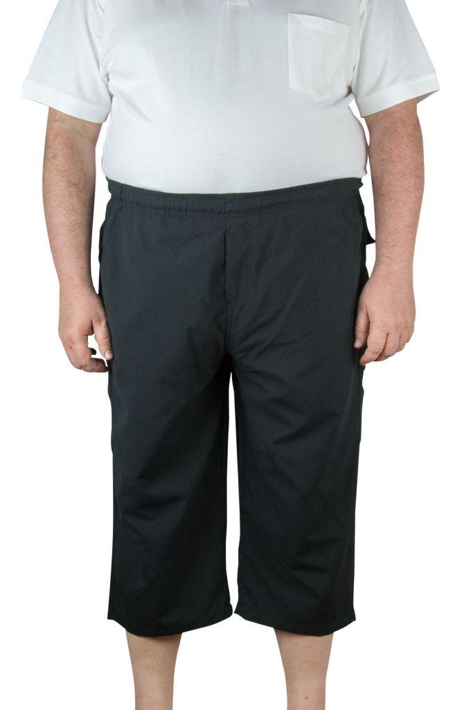 Pantacourt de jogging Microfibre Noir du 2XL au 10XL Ahorn