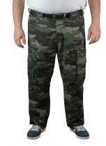 Pantalon Cargo Camouflage Kaki Kam du 40US au 60US