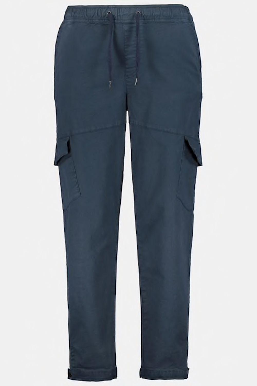 Pantalon Cargo Elastiqué Bleu Marine JP1880 du 3XL au 7XL