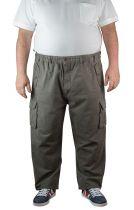 Pantalon Cargo Gris Espionage du 2XL au 8XL