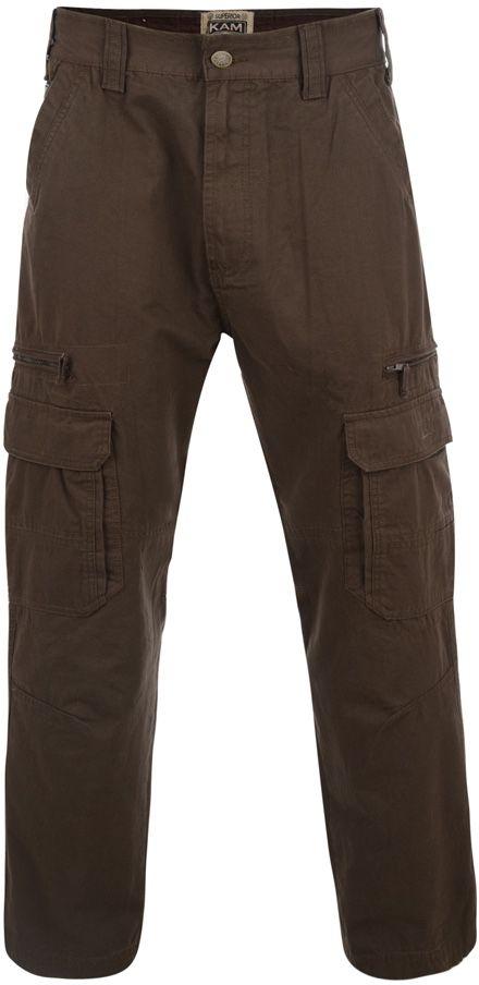 Pantalon Cargo Kaki du 42Us au 60US Kam