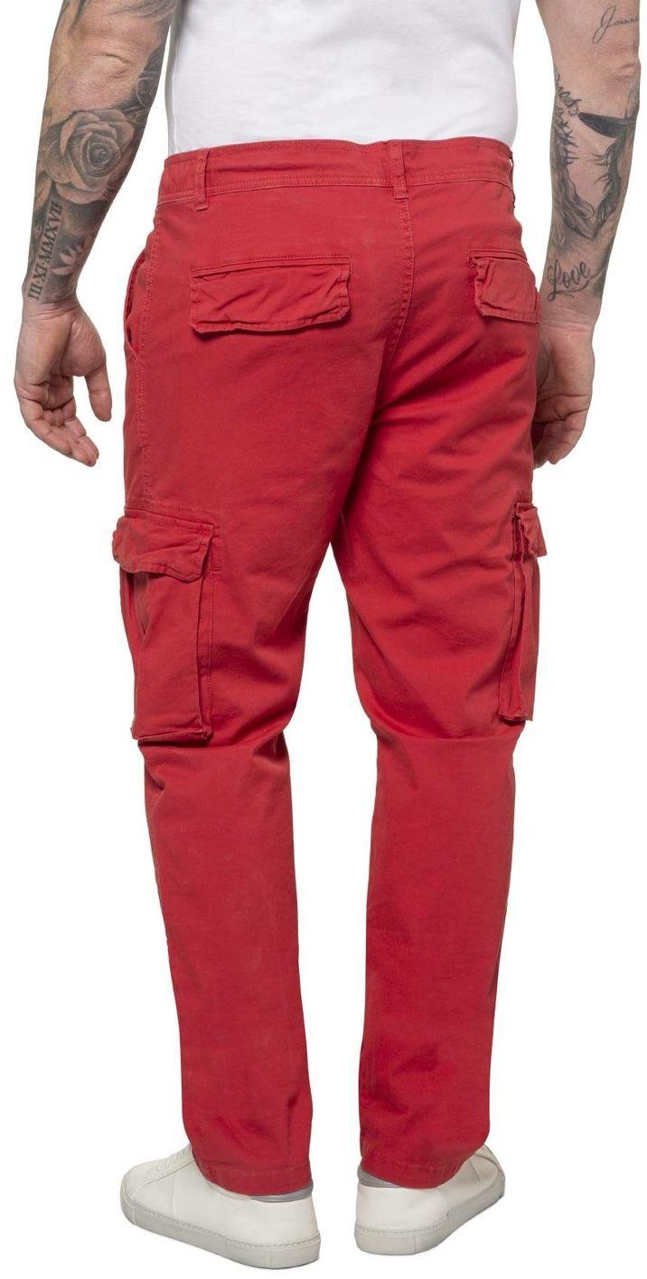 Pantalon Cargo Strech Rouge JP1880 du 52FR au 70FR