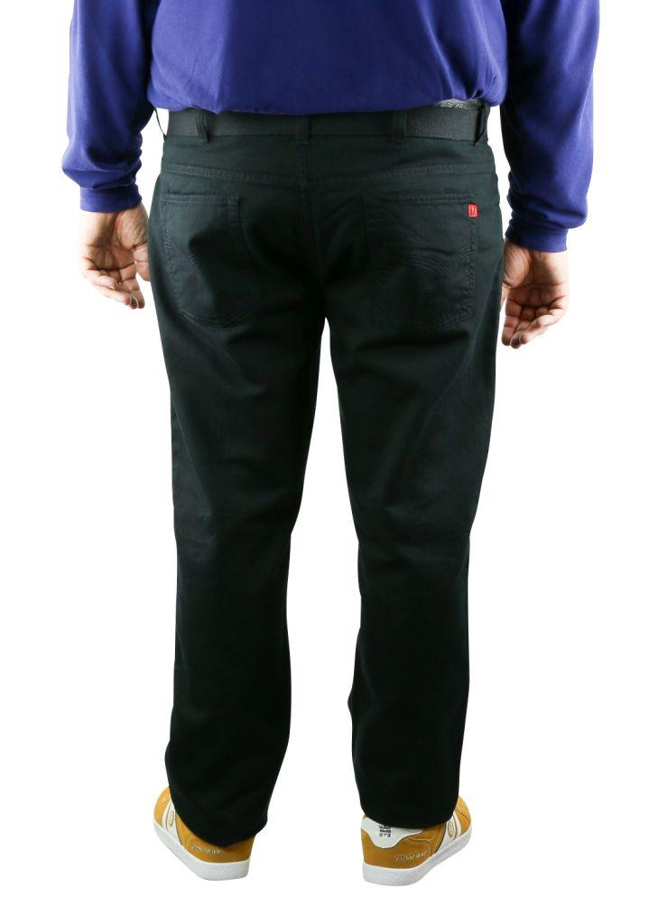 Pantalon Casual Noir MARIO de DUKE