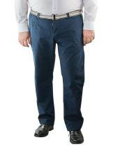 Pantalon Chino Bleu Marine Kangol du 42US au 54US